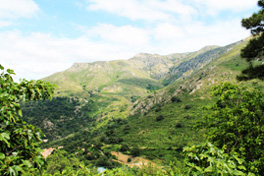 Vue de Speloncato village de Haute Corse